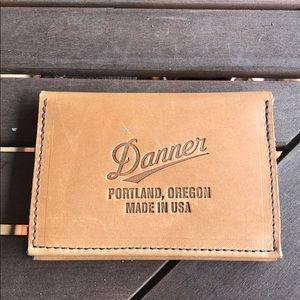 Danner Leather Wallet. New. Tan